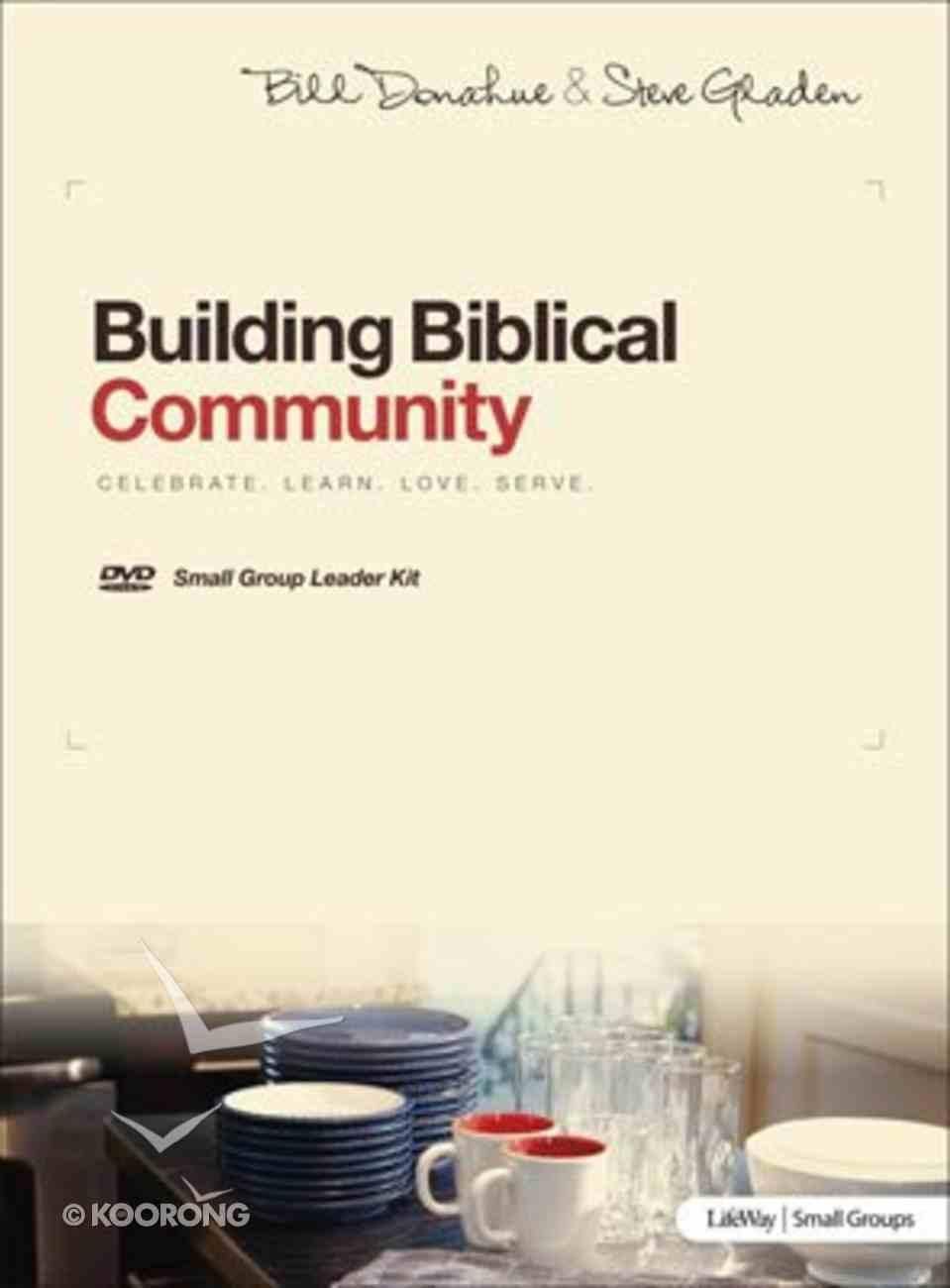 Building Biblical Community (Dvd Leader Kit) DVD