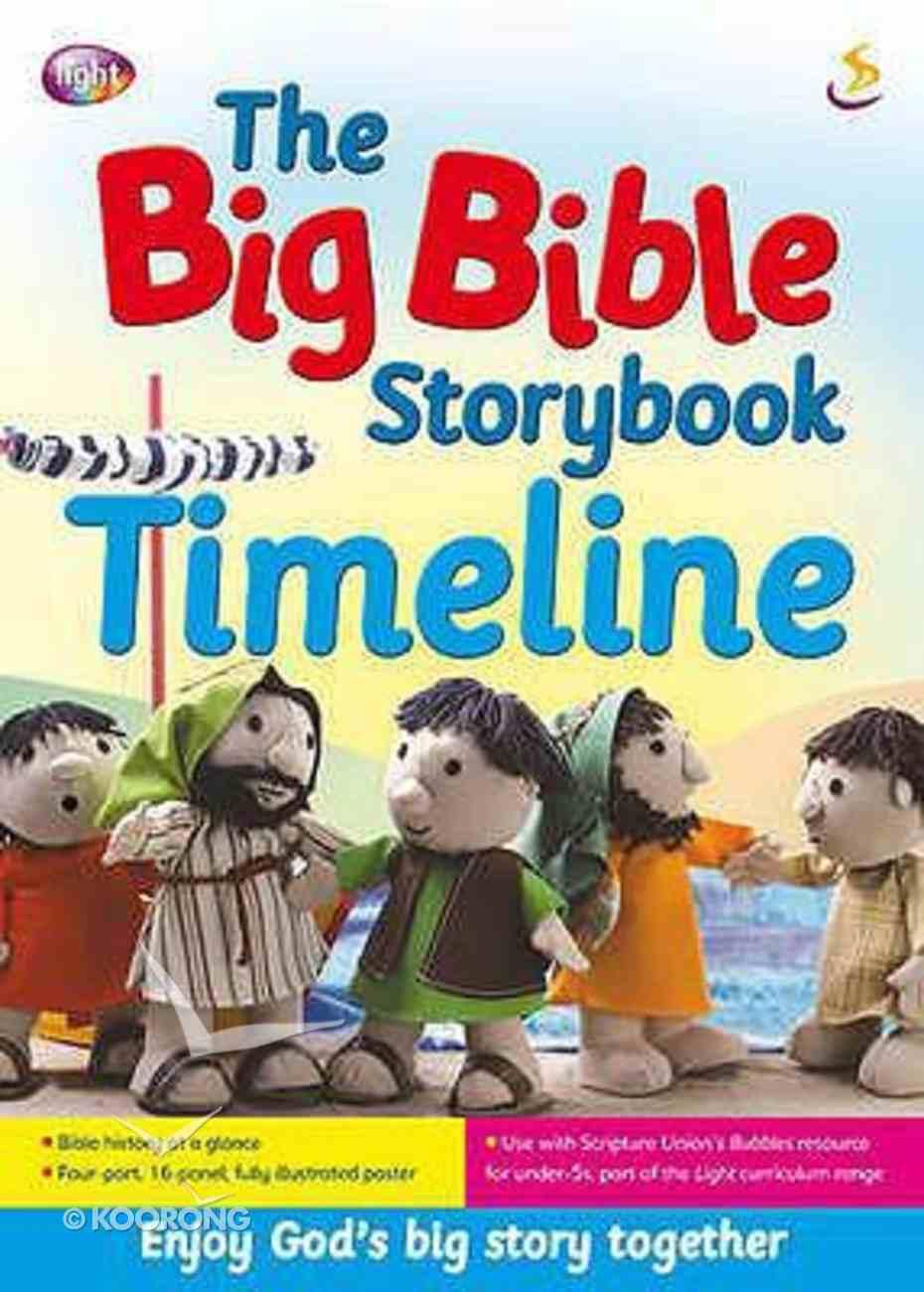 The Big Bible Storybook Timeline Paperback