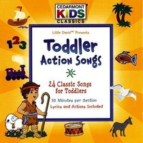 Album Image for Cedarmont Kids: Toddler Action Songs (Kids Classics Series) - DISC 1