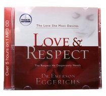 Album Image for Love & Respect (Unabridged- Over 5 Hours) (Mp3) - DISC 1