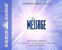 Album Image for Message Complete Bible on Audio CD (66 Cds) - DISC 1