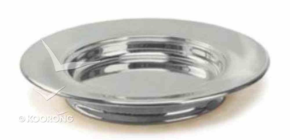 "Bread Plate: Stacking Silvertone (Rw-504a) (10"") Church Supplies"
