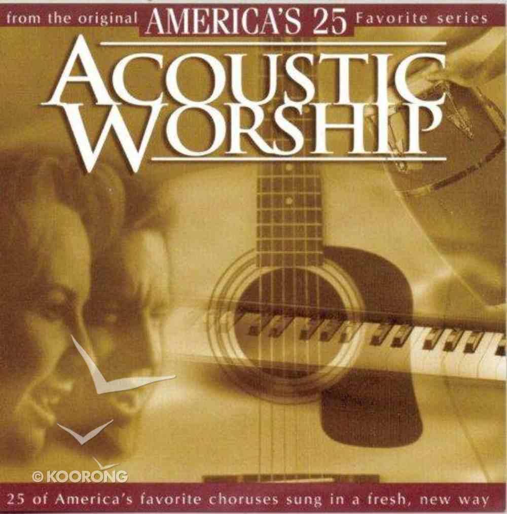 America's 25 Favorite Acoustic Worship Volume 1 CD