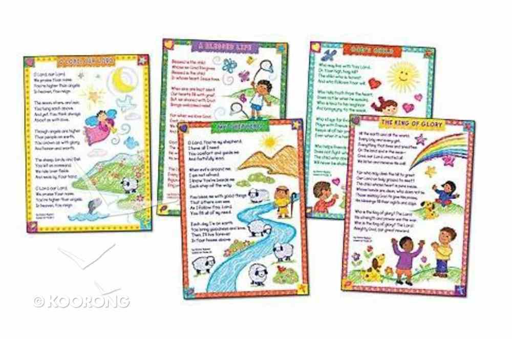 "Bulletin Board: God's Children (5 X 17"" X 24"" Posters) Church Supplies"