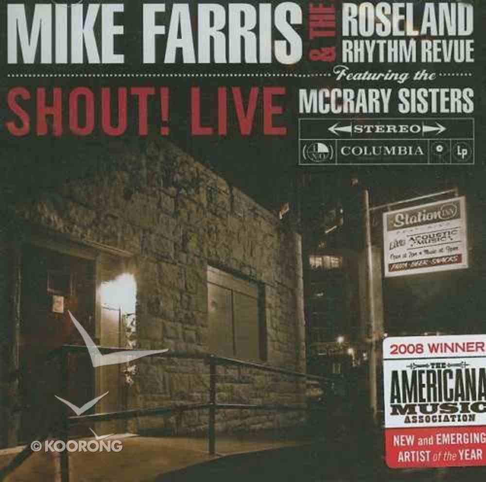 Shout! Live CD