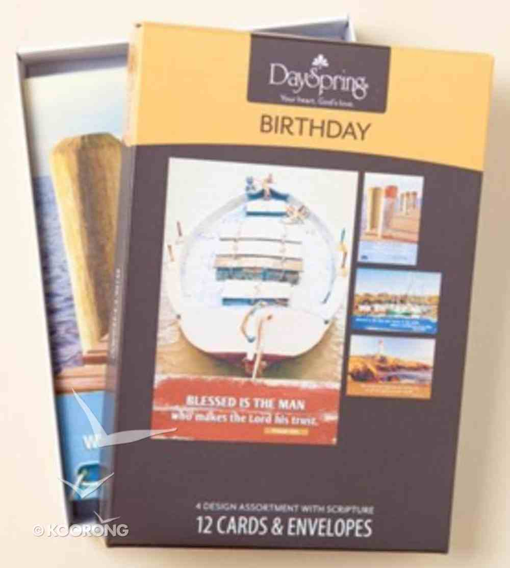 Boxed Cards Birthday: Nautical (Masculine) Box