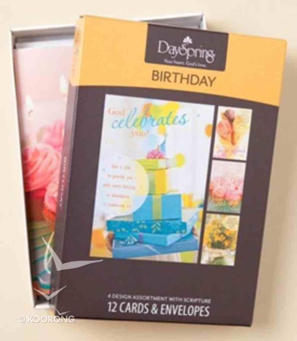 Boxed Cards Birthday: Sweet Box
