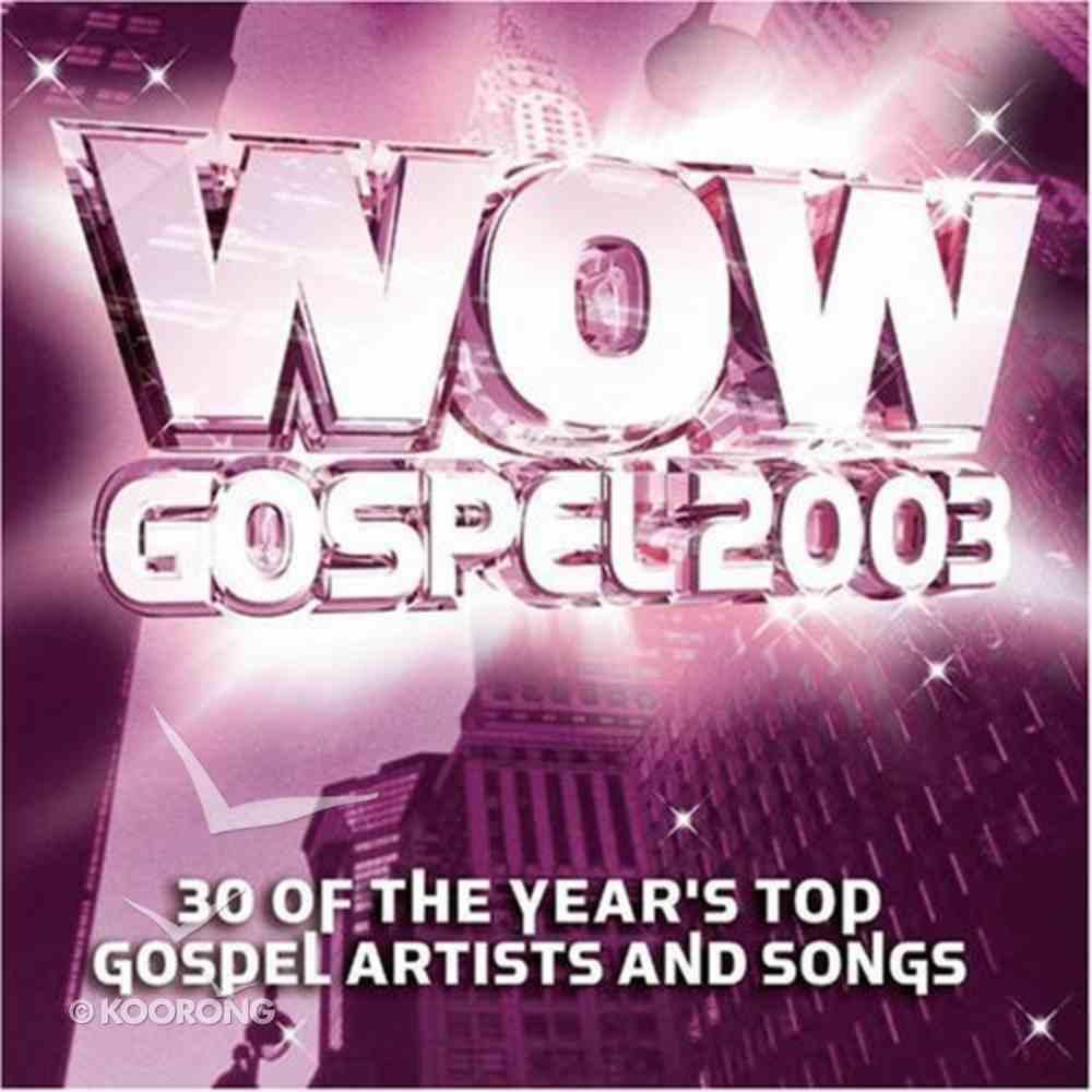 Wow Gospel 2003 CD