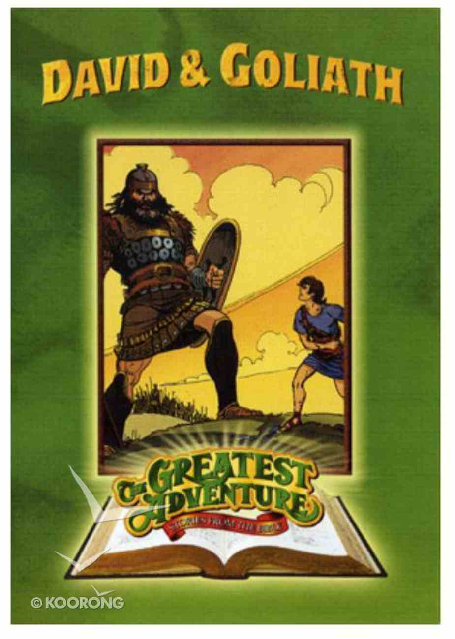 David and Goliath (The Greatest Adventure Bible Stories Series) DVD