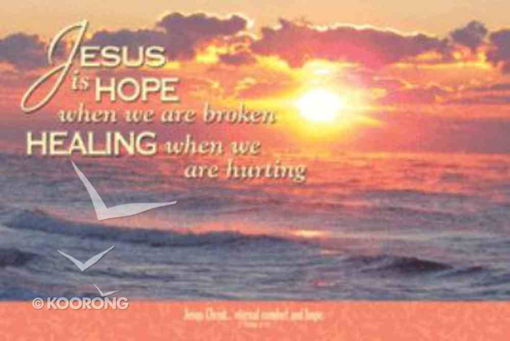 Poster Small: Jesus is Hope Poster