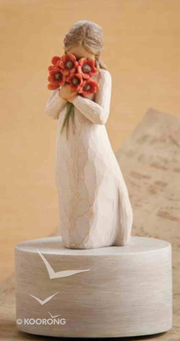 Willow Tree Musical Figurine: Surrounded By Love Homeware