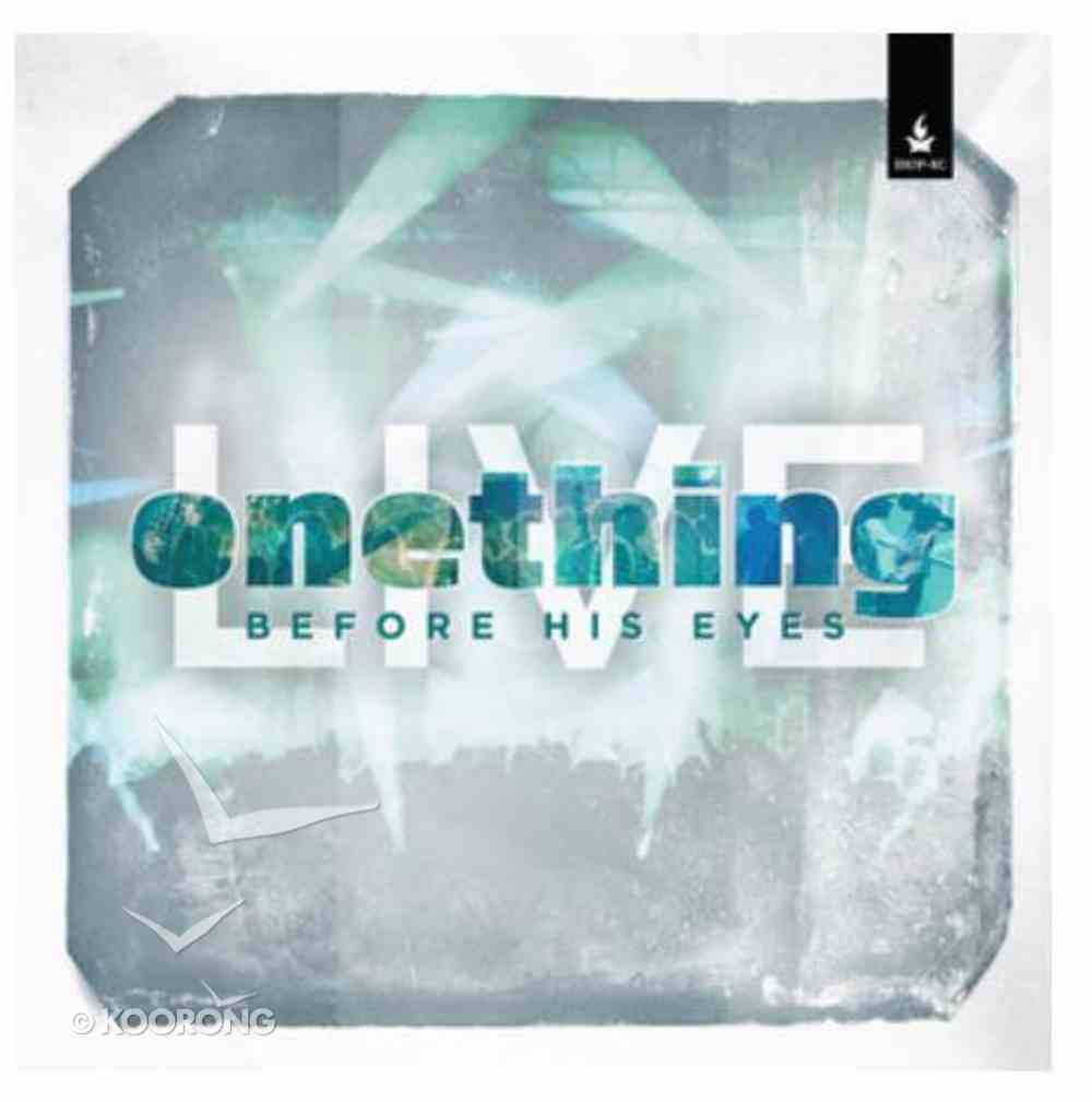 Onething Live: Before His Eyes CD