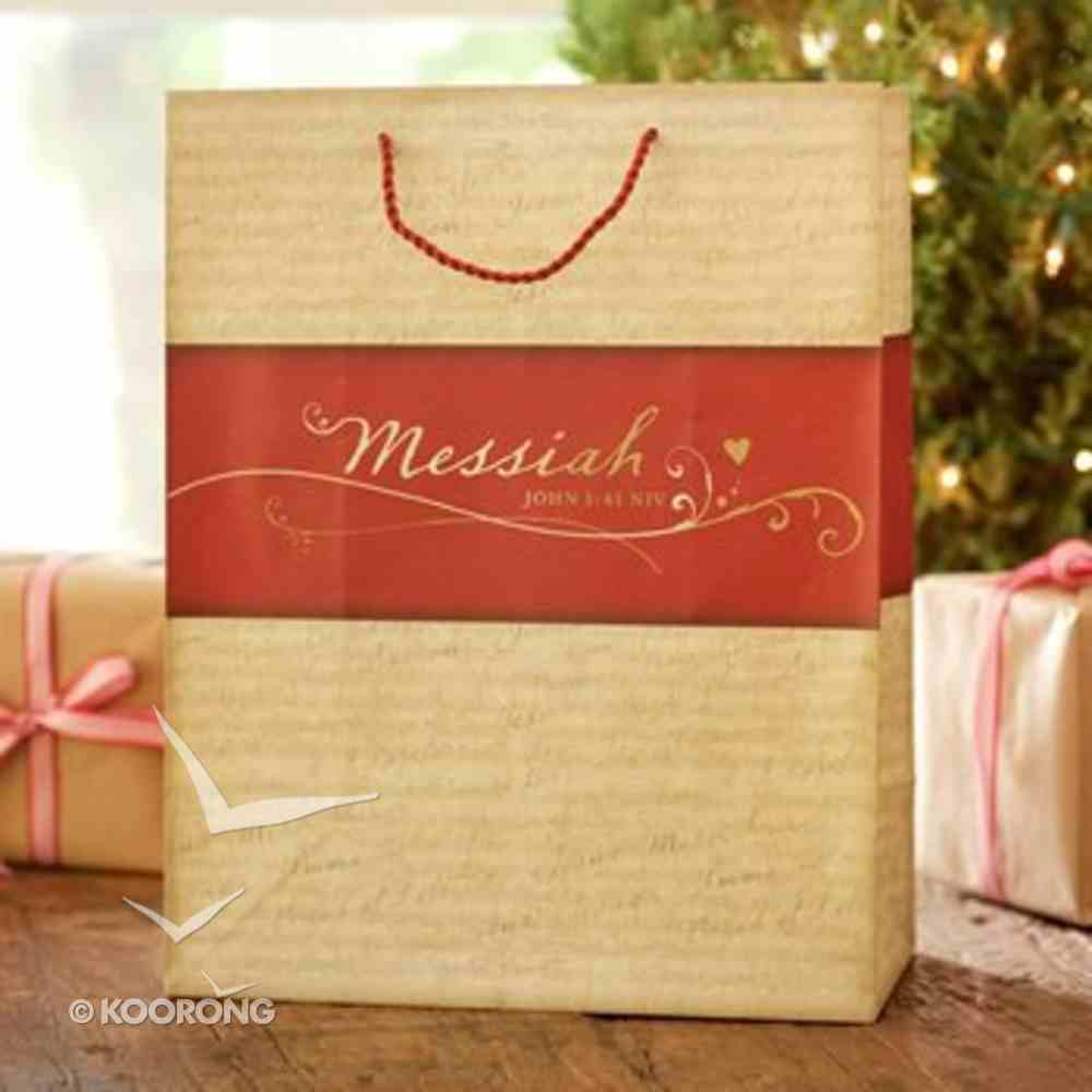Christmas Gift Bag: Messiah (Extra Large) Stationery