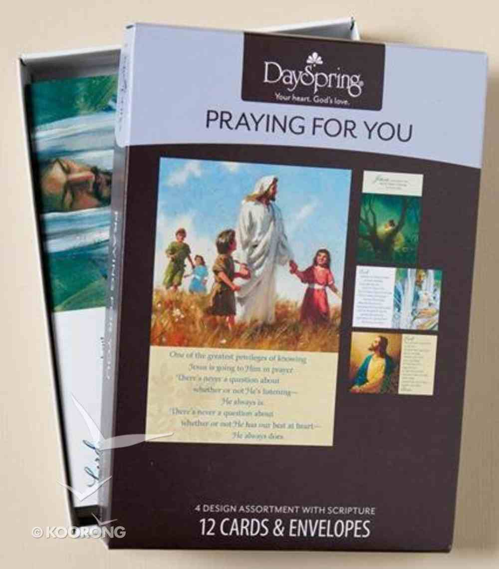 Boxed Cards Praying For You: Christ Our Lord Box