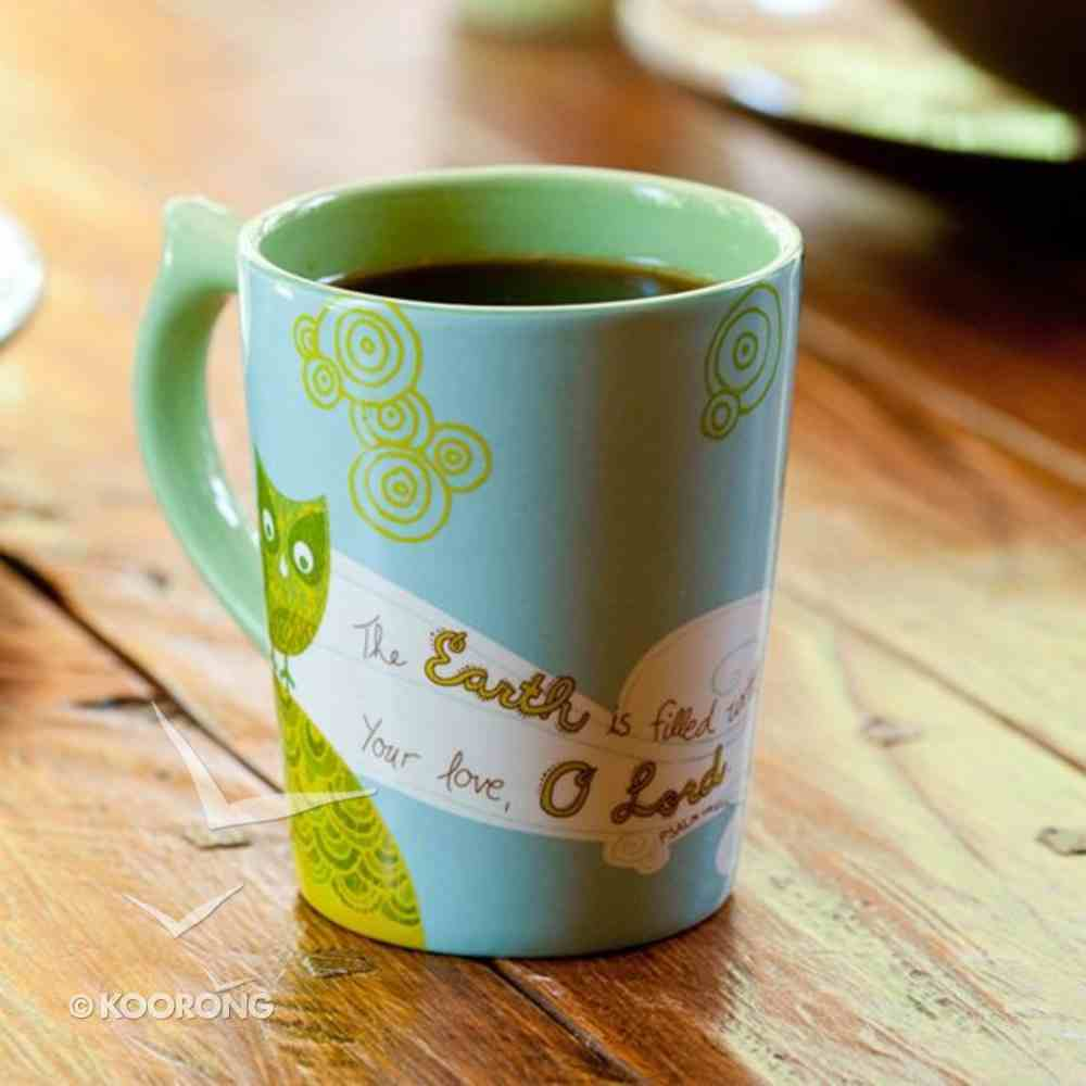 Coffee Mug: Owl (Psalm 119:69) Homeware