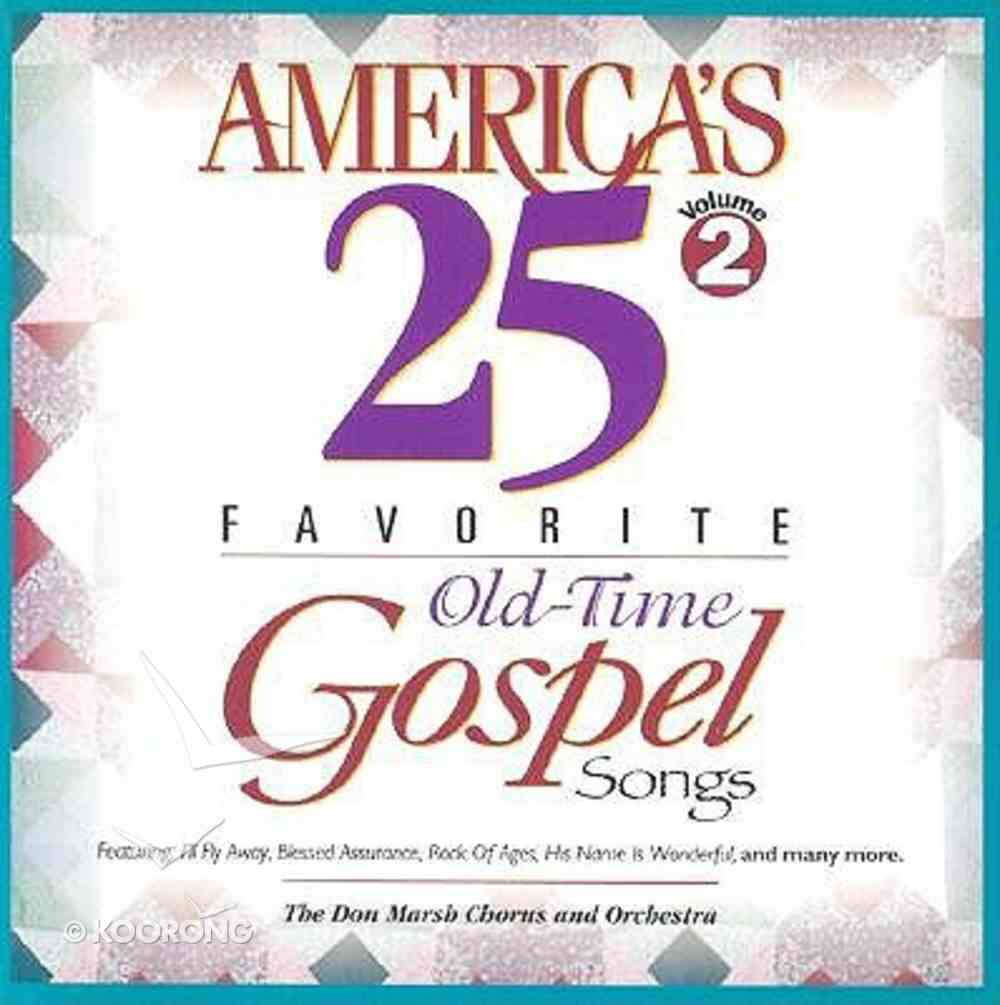 Americas 25 Favorite Gospel 2 CD