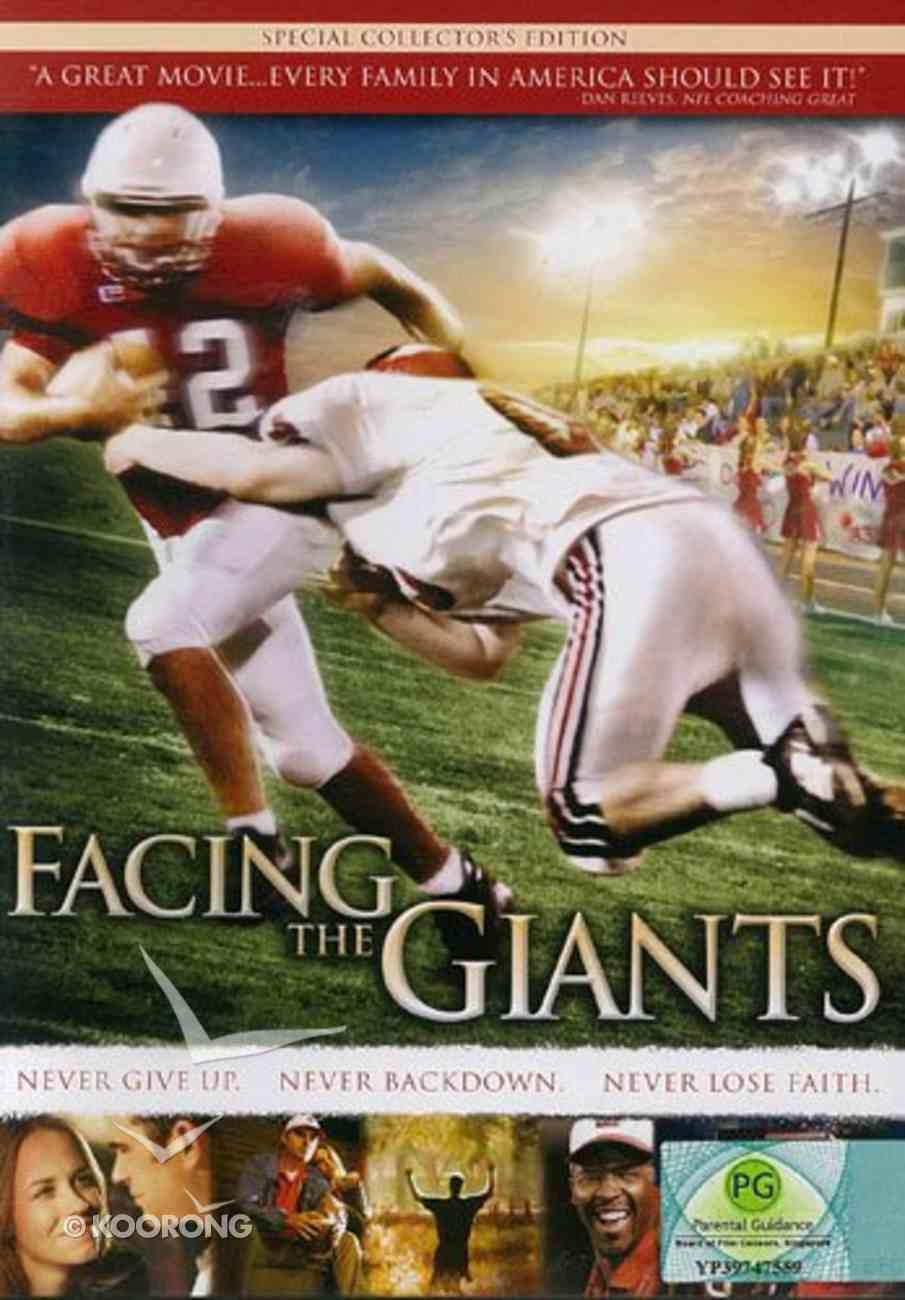 Scr DVD Facing the Giants: Screening Licence Standard Digital Licence