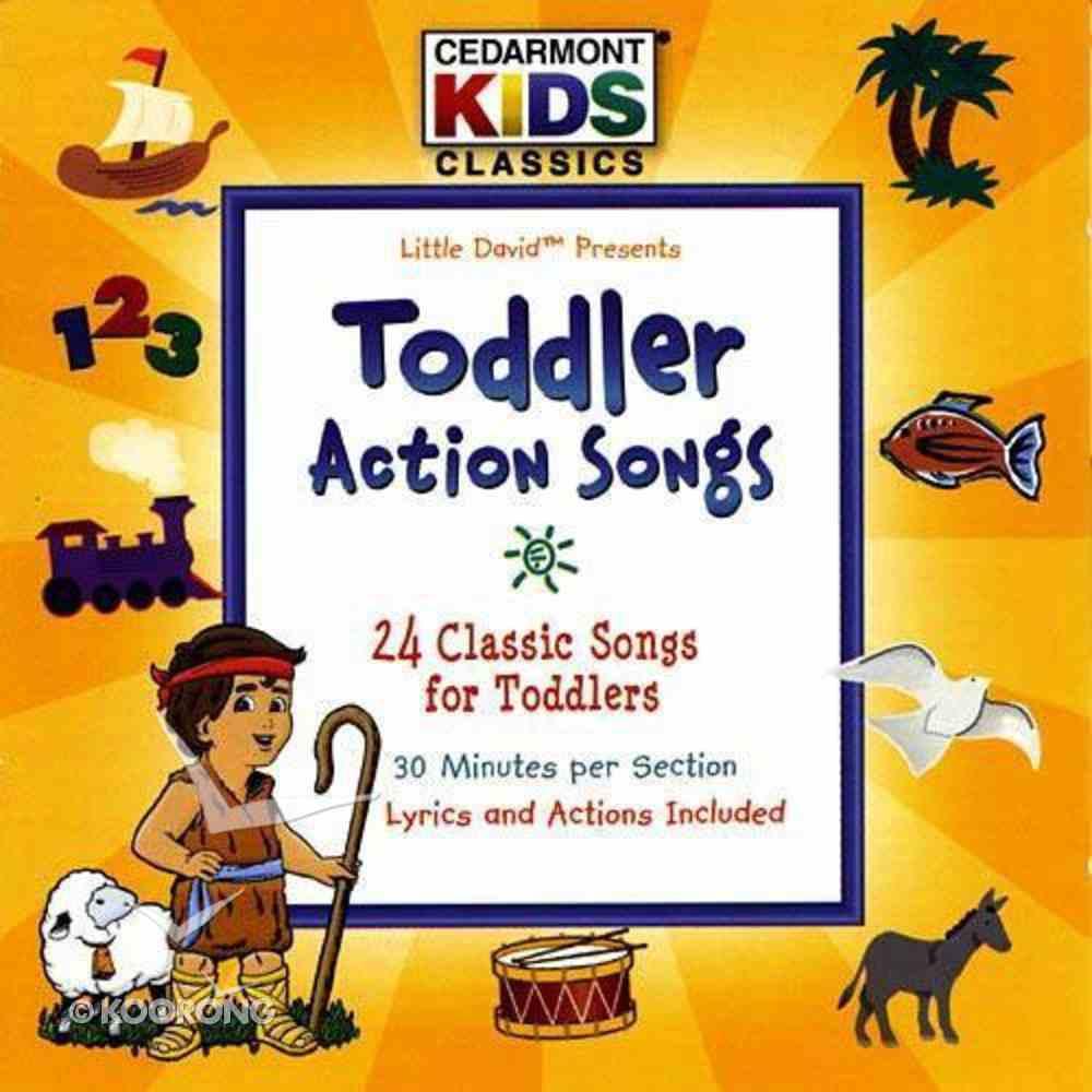 Cedarmont Kids: Toddler Action Songs (Kids Classics Series) CD
