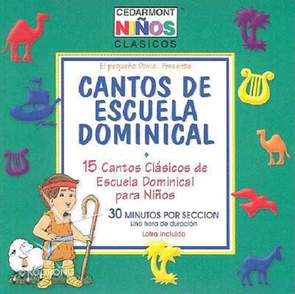 Cedarmont Kids: Cantos De Escuela Dominical (Sunday School Spanish) (Kids Classics Series) CD