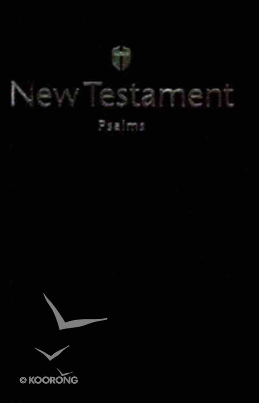 HCSB Economy New Testament With Psalms Black (Red Letter Edition) Imitation Leather