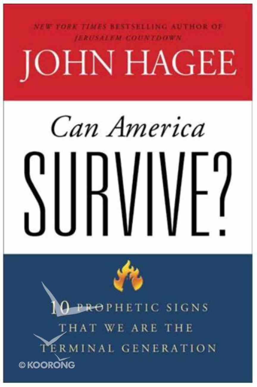 Can America Survive? (Large Print) Paperback