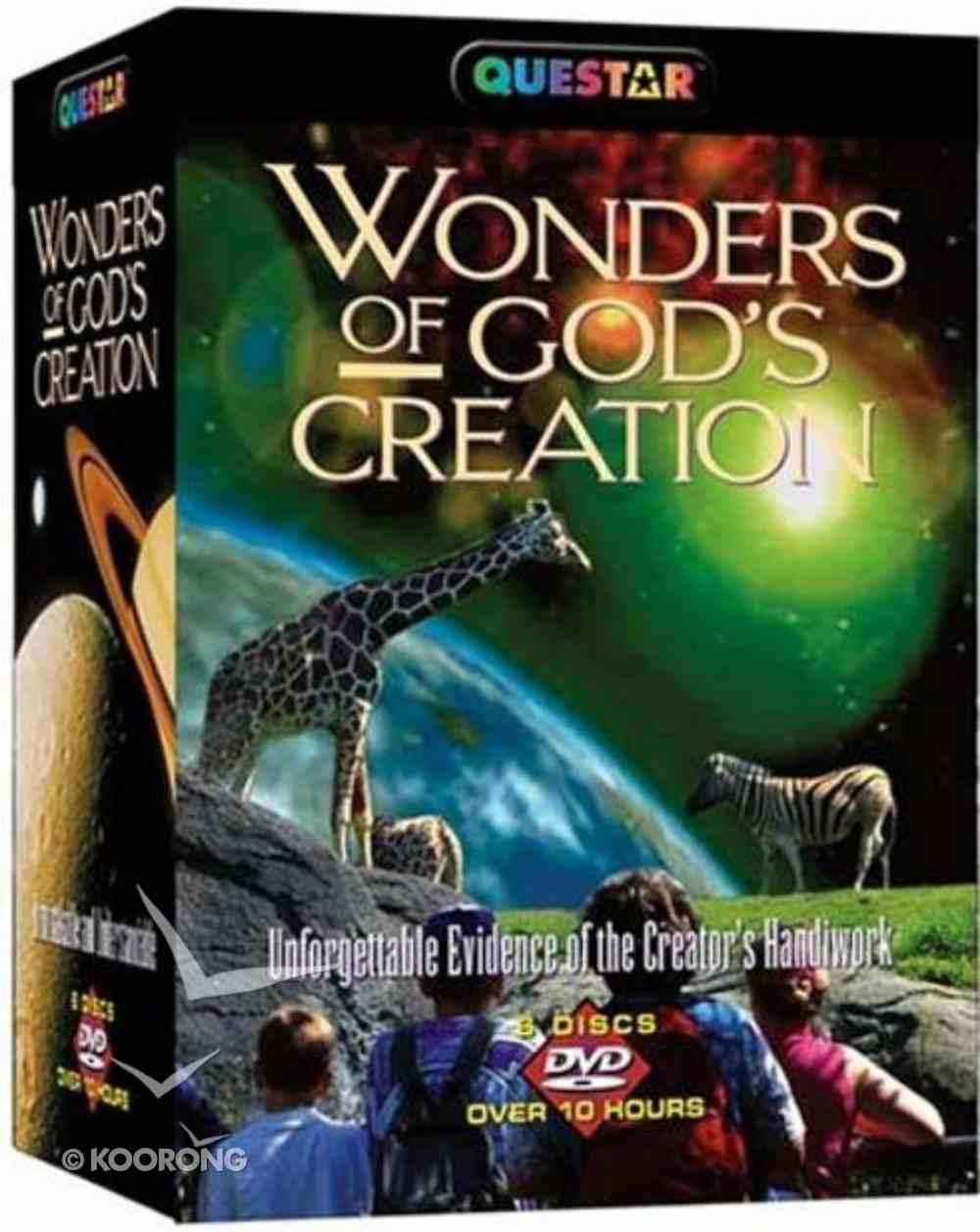 Wonders of Gods Creation (6 Dvds) DVD