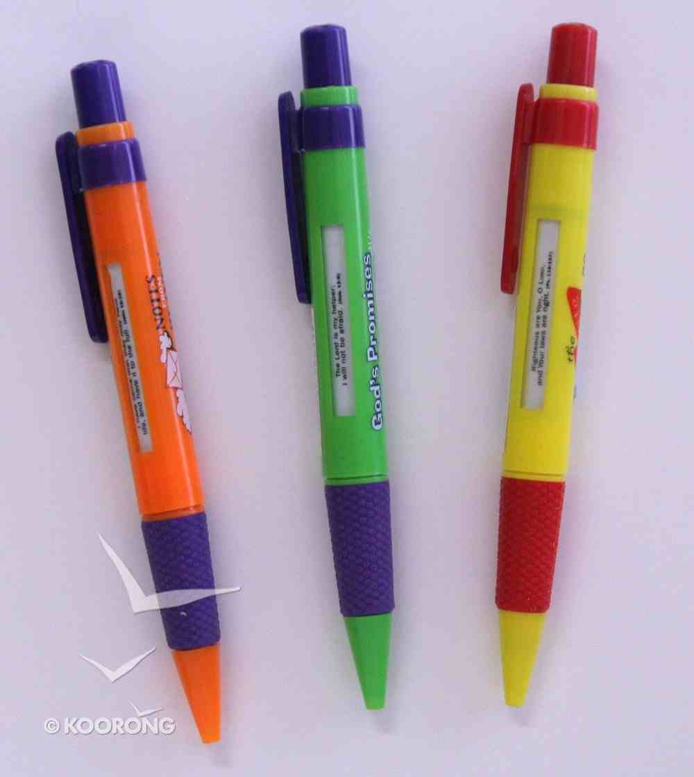 Pen With Message Window: Various Designs Stationery