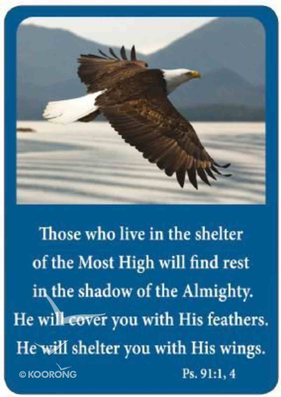 Friendship Magnet: Those Who Live, Psalm 91:1,4 Novelty