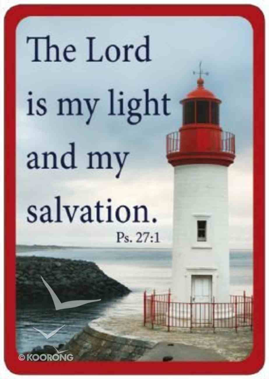 Friendship Magnet: The Lord is My Light, Psalm 27:1 Novelty