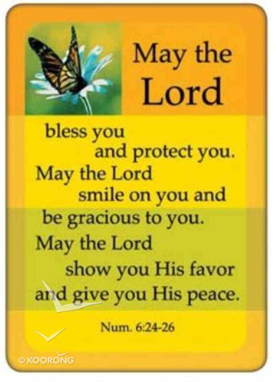 Friendship Magnet: May the Lord Bless You, Numbers 6:24-26 Novelty