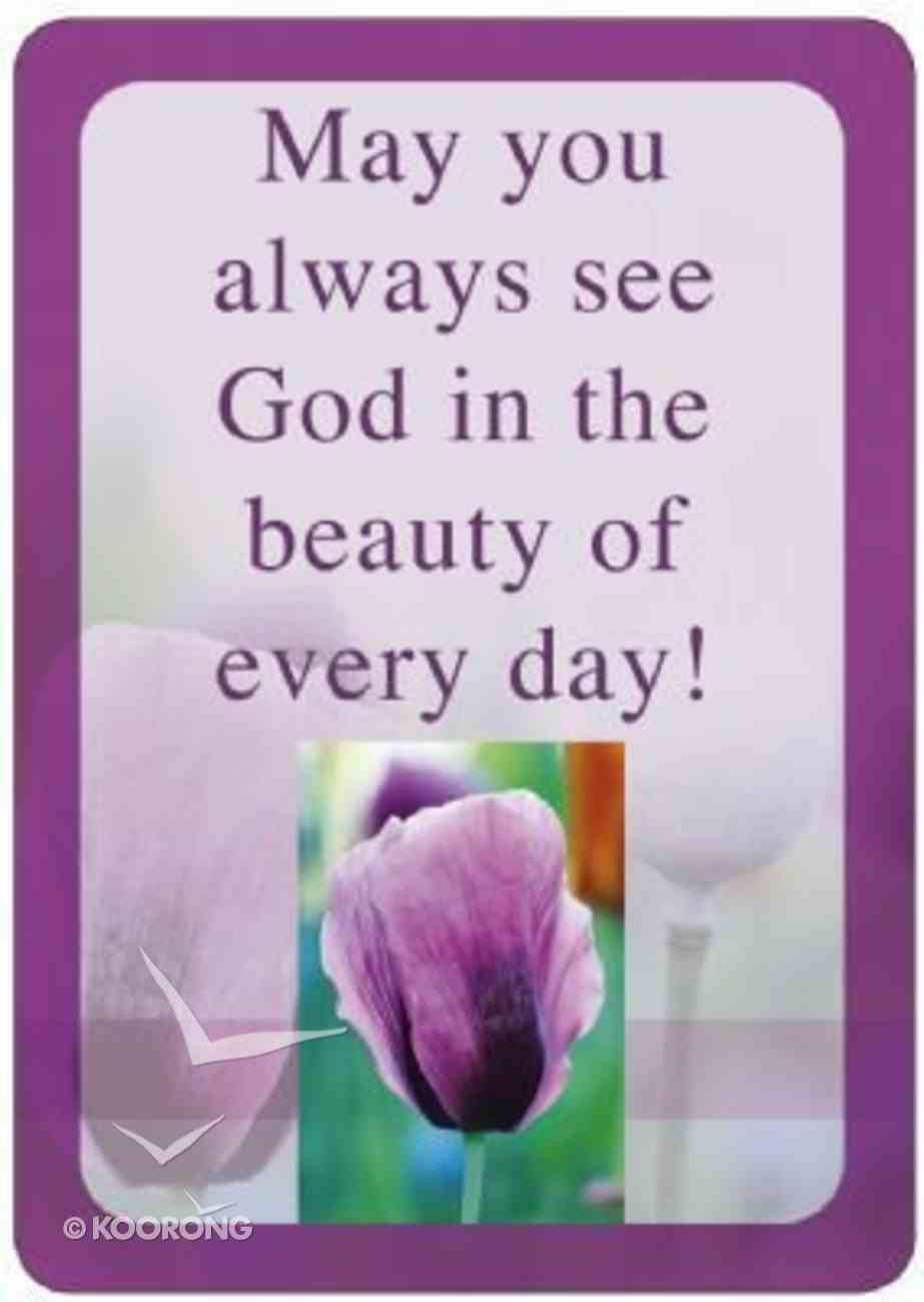 Friendship Magnet: May You Always See God in the Beauty of Every Day Novelty