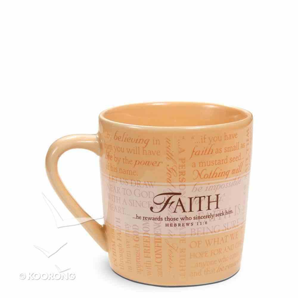 Ceramic Mug: Promises of Faith (With Scripture Cards) Homeware