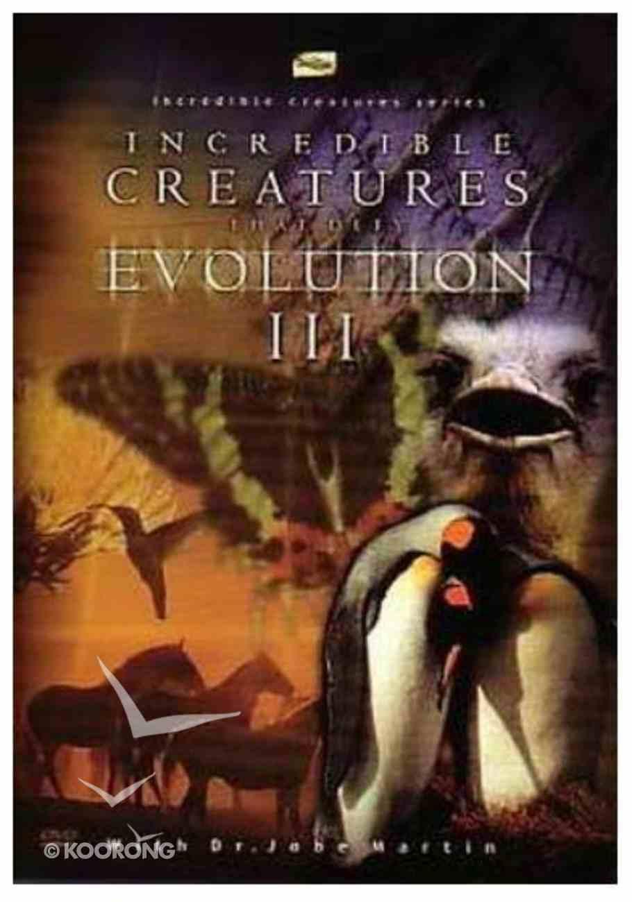Incredible Creatures That Defy Evolution (Iii) DVD