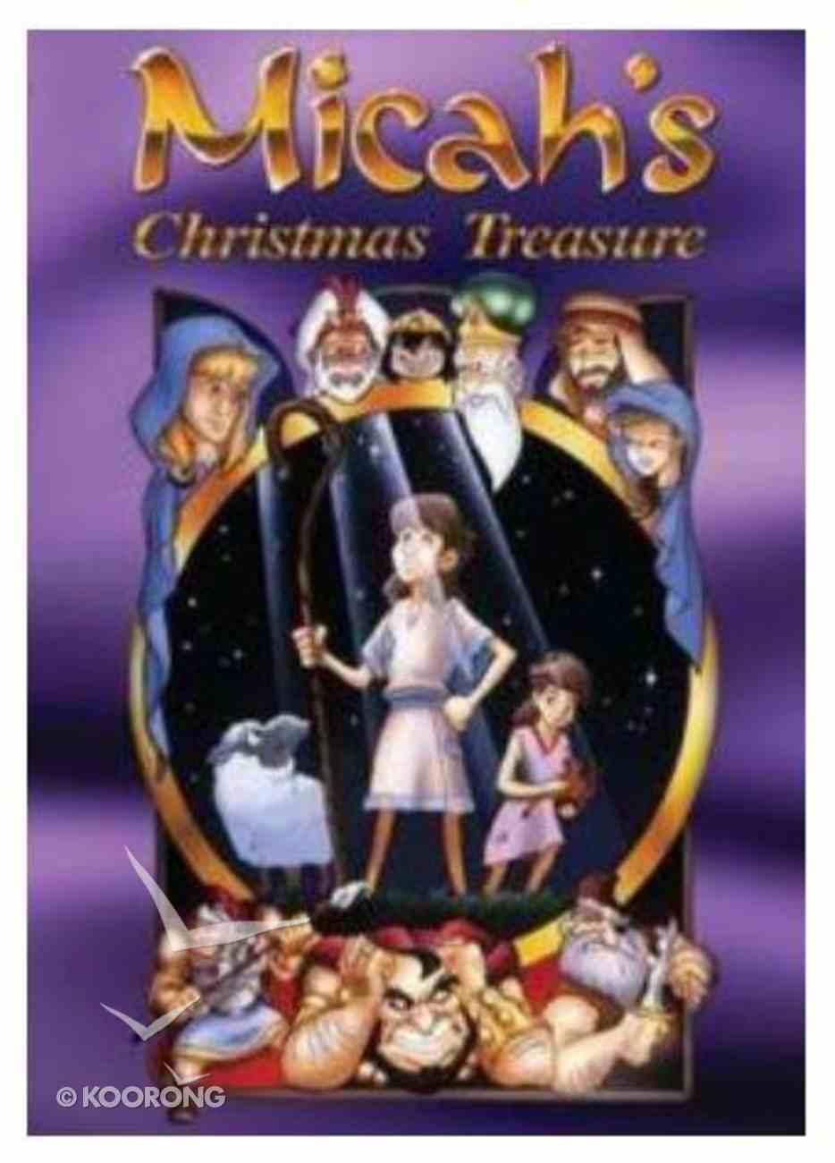 Micah's Christmas Treasure DVD