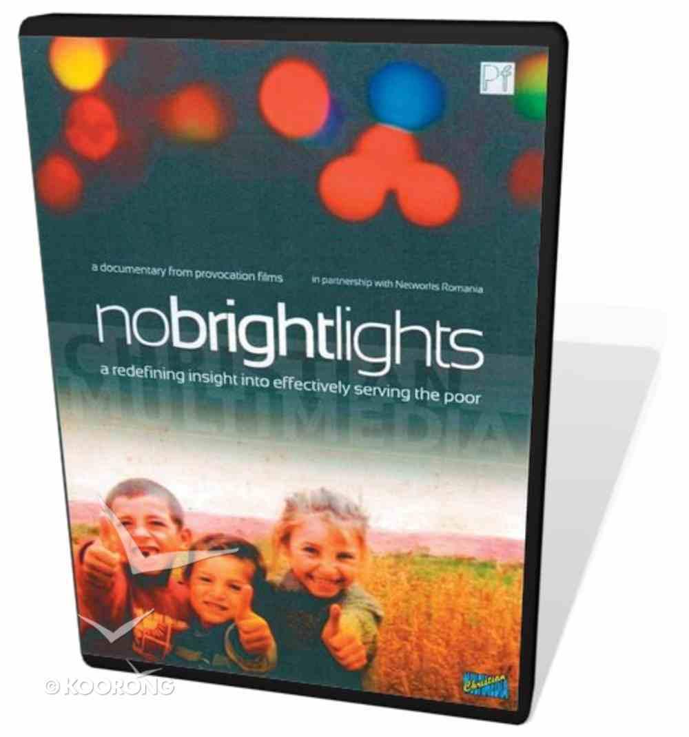 No Bright Lights DVD