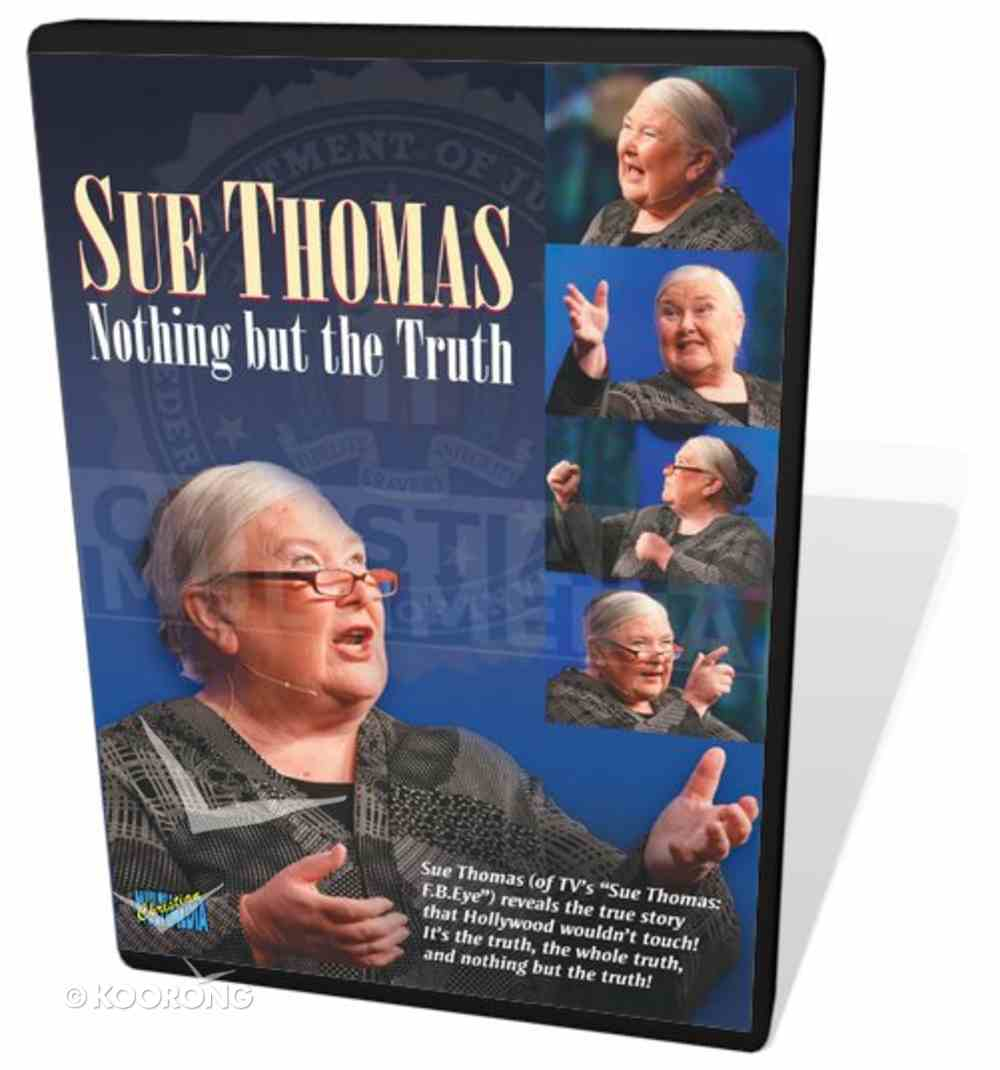 Sue Thomas: Nothing But the Truth DVD