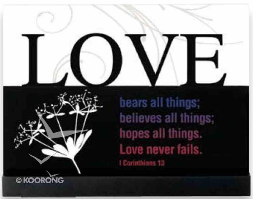 Lifewords Plaque: Love Plaque
