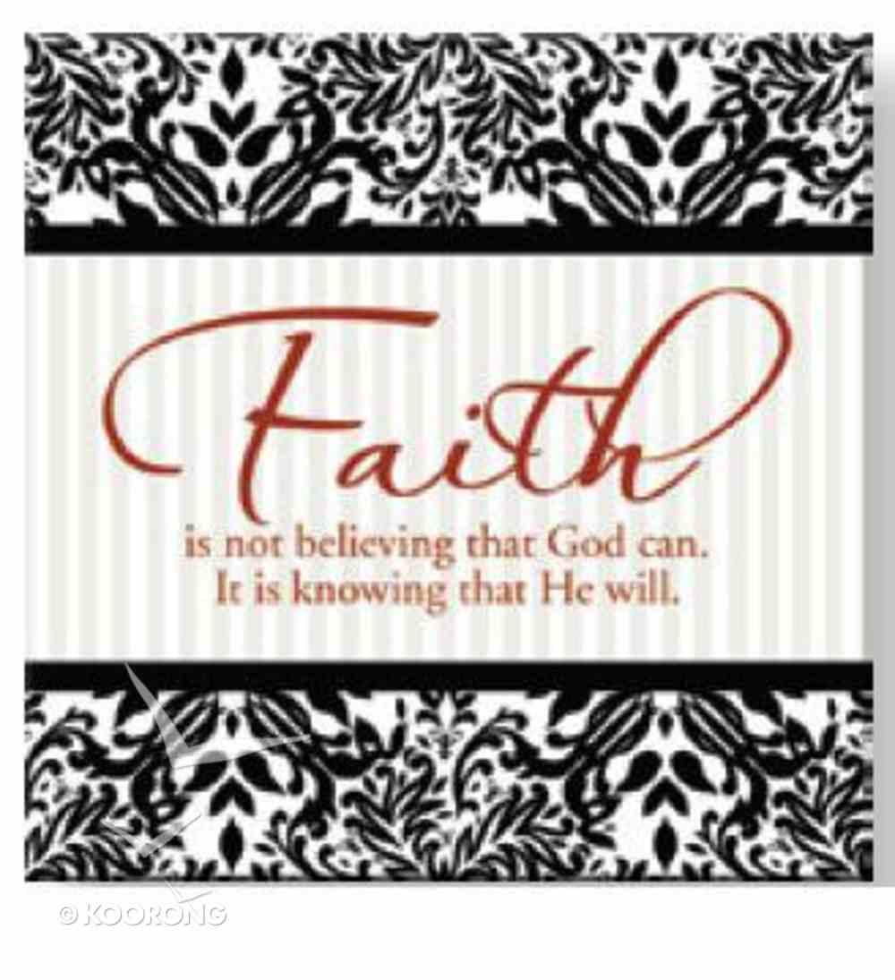 Bright Ideas Magnet: Faith Novelty