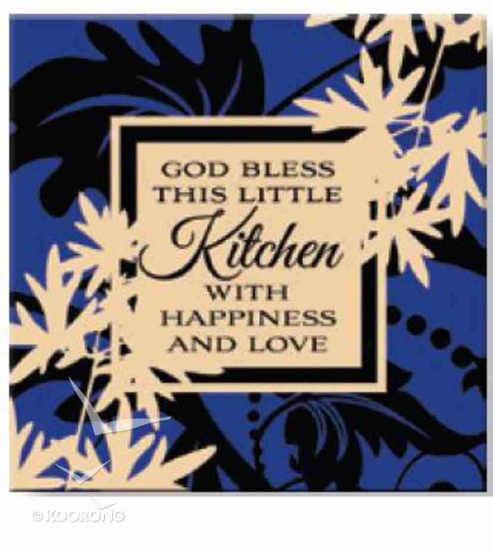 Bright Ideas Magnet: God Bless This Little Kitchen With Happiness and Love Novelty