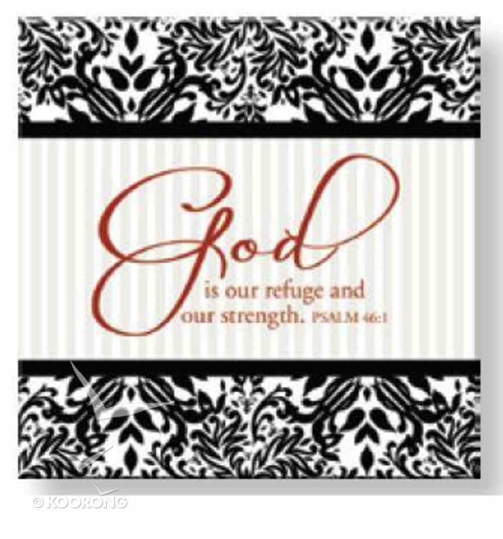 Bright Ideas Magnet: God is Your Refuge Novelty
