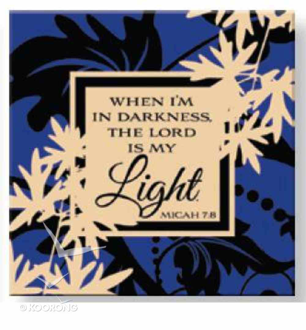 Bright Ideas Magnet: When I'm in Darkness the Lord is My Light Novelty