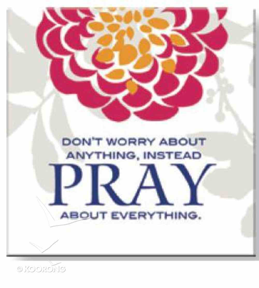 Bright Ideas Magnet: Pray Novelty
