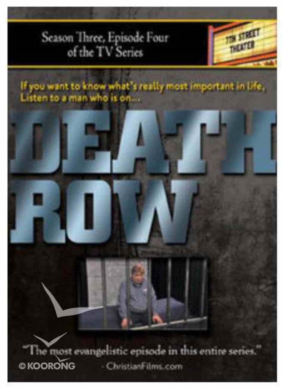 Death Row (28Mins) (Season 3, Episode 4) (7th Street Theatre Series) DVD