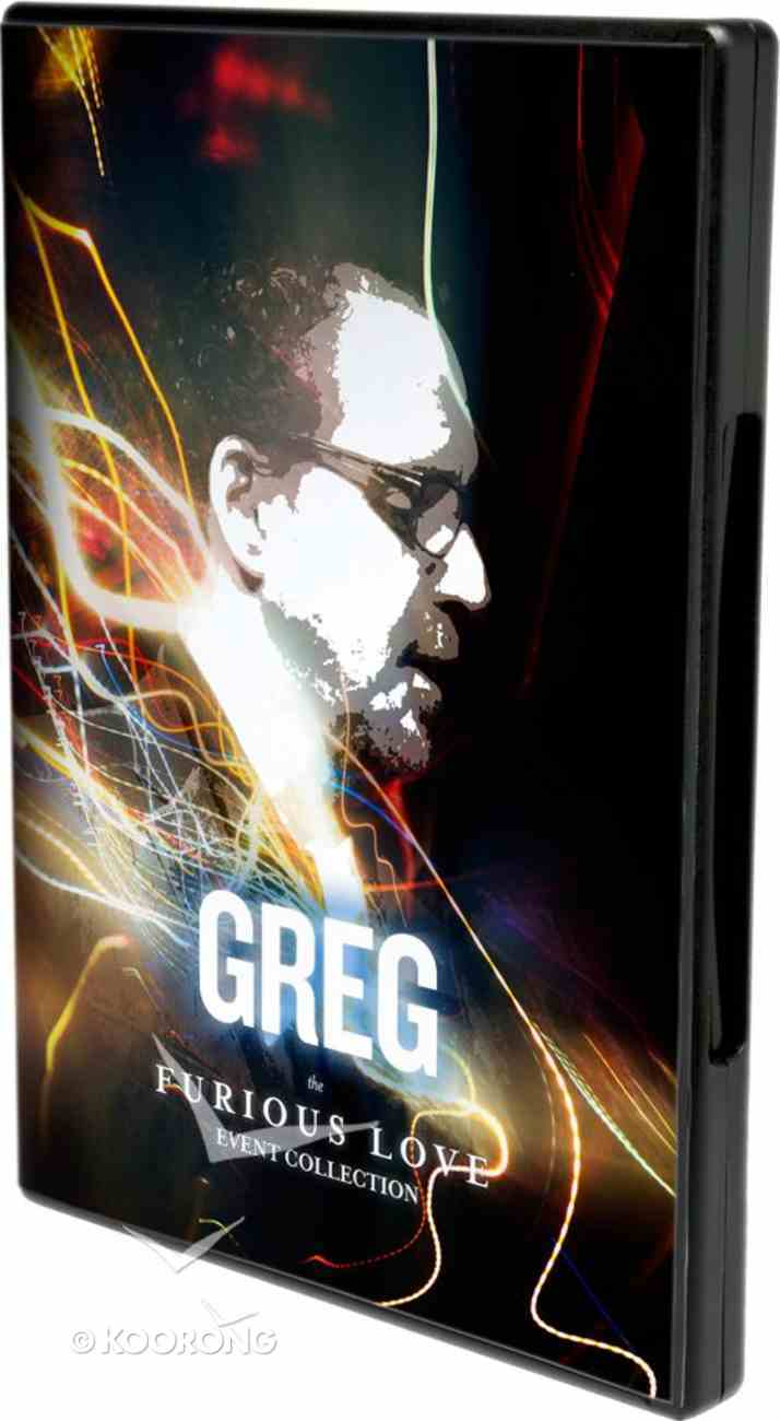 Furious Love Event: Greg Boyd DVD