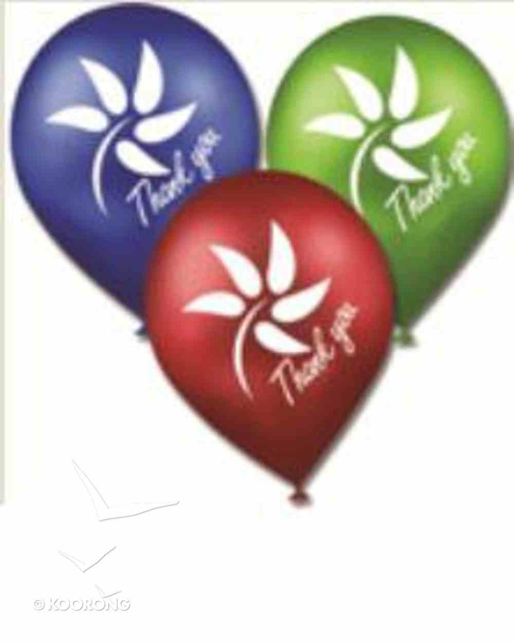 National Day of Thanks Balloons (Pack 25) General Gift