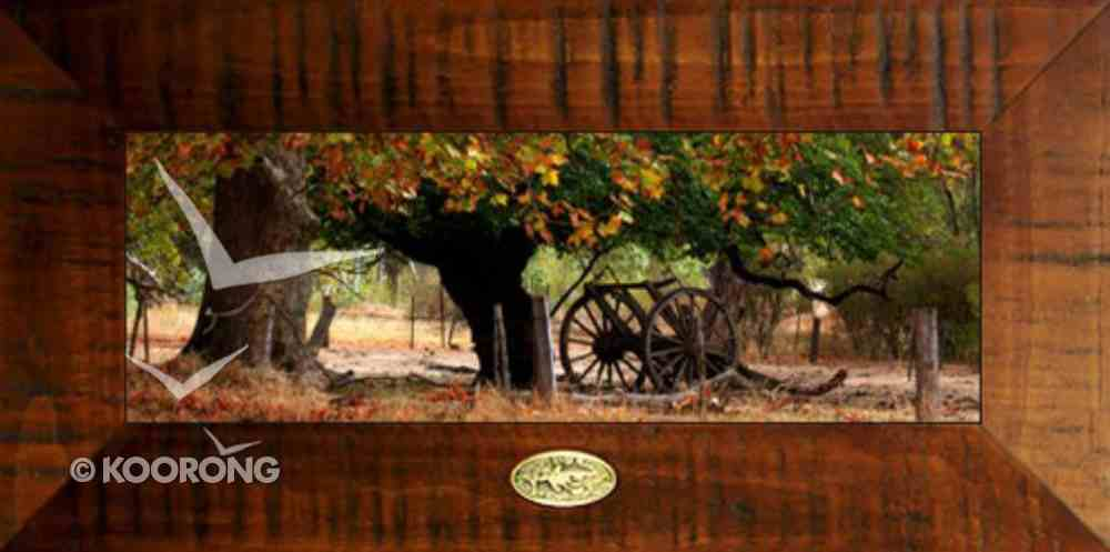 Clancy Haven Framed Photo: Country Charm, Isaiah 26:3 Plaque