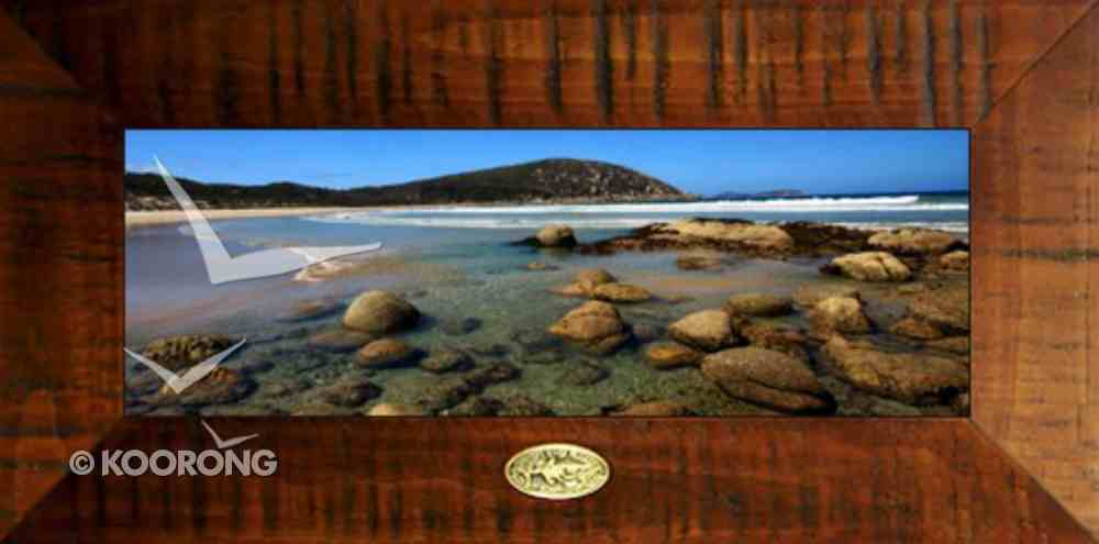 Clancy Haven Framed Photo: Whiskey Bay, Matthew 11:28 Plaque