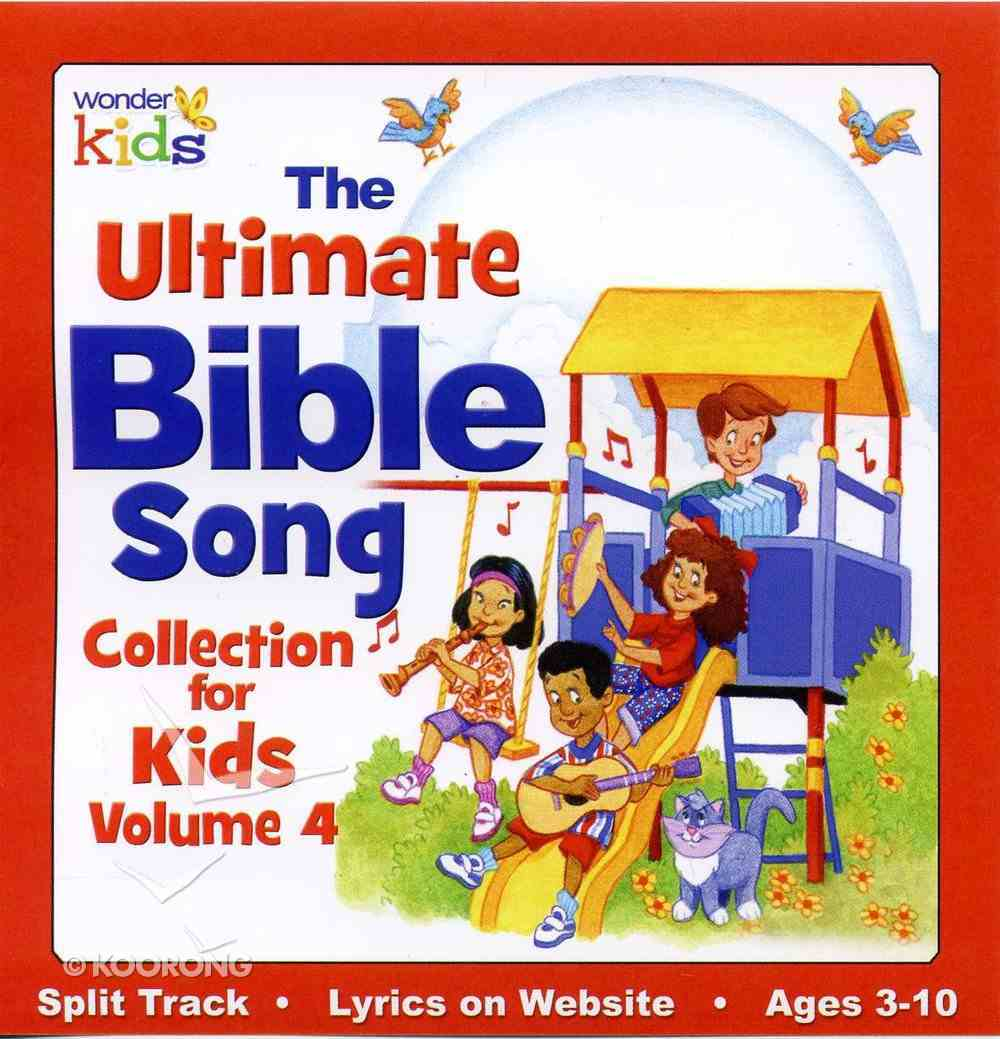 Ultimate Bible Song Collection For Kids Volume 4 CD