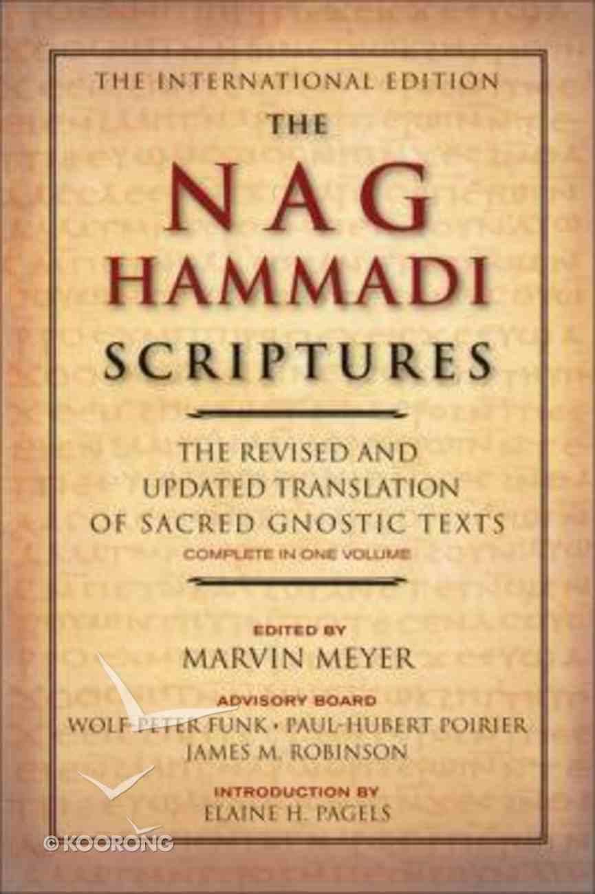 The Nag Hammadi Scriptures Paperback