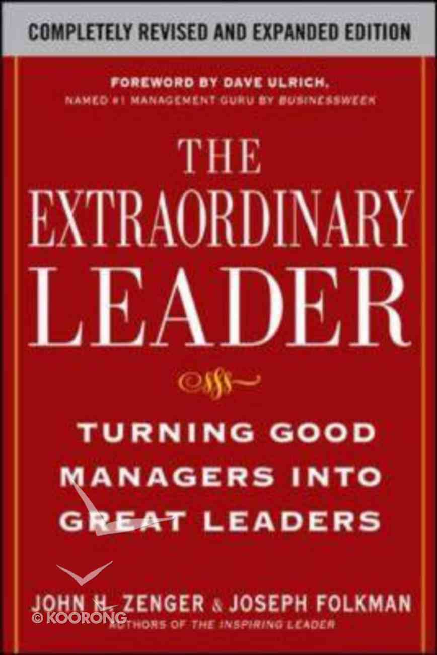 The Extraordinary Leader Paperback